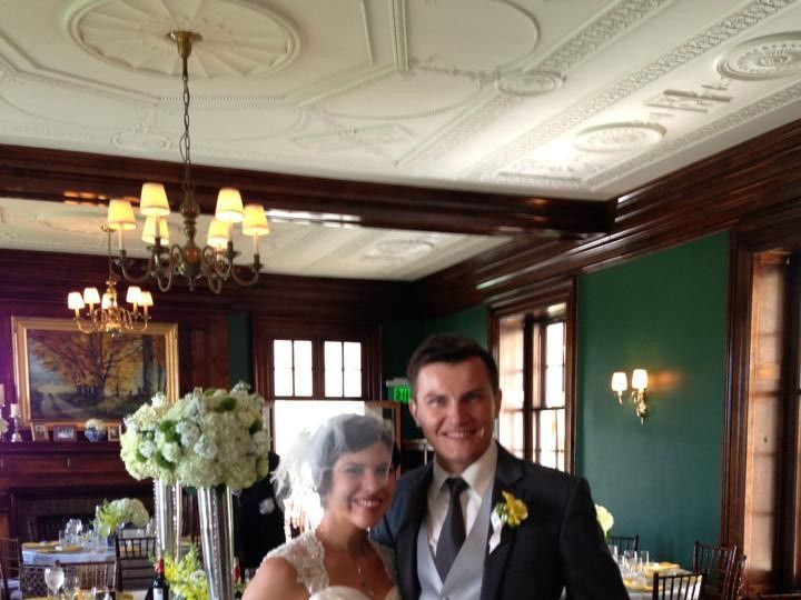 Tmx 1374676956099 Bride And Groom Posing Plain City wedding catering