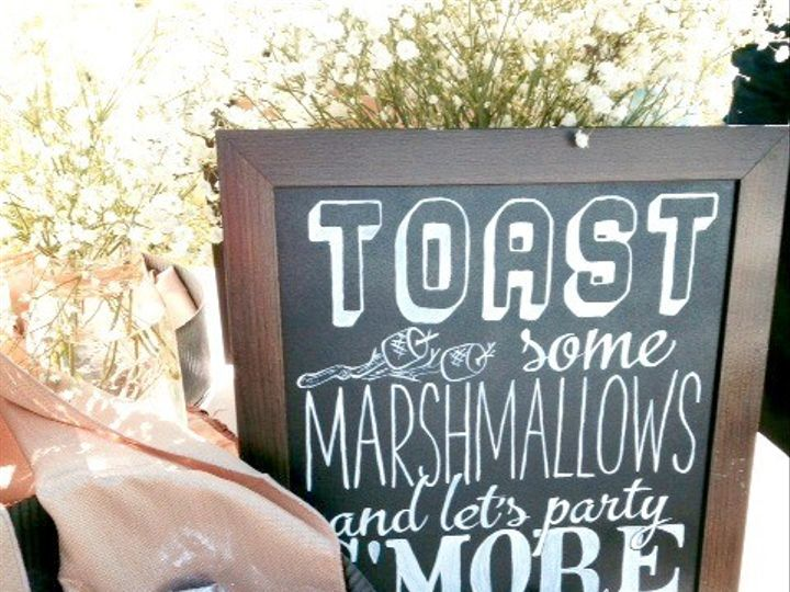 Tmx 1426628504350 Toast Marshmallows And Party Smore Sign W Chocolat Plain City wedding catering