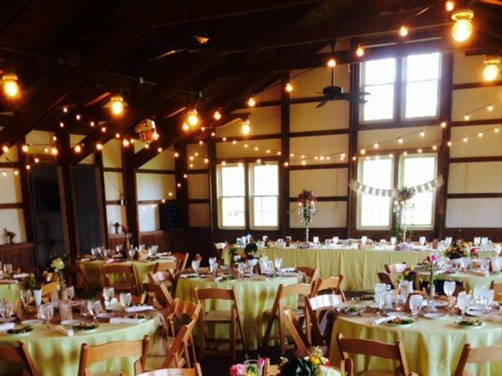 Tmx 1426628623063 Camp Mary Orton Reception  Guest Tables And Lighti Plain City wedding catering