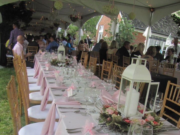 Tmx 1426628884018 Beautiful Lush Pink Tablescape Plain City wedding catering