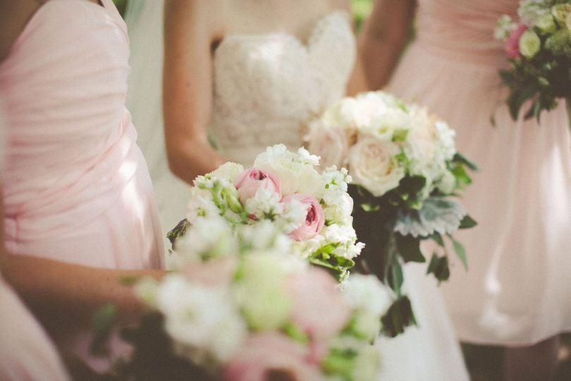 Blush Bouquets at 9th Street Abbey