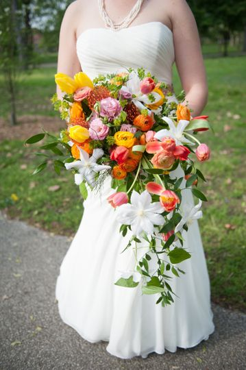 Cascading Spring Bouquet at Tower Grove Park