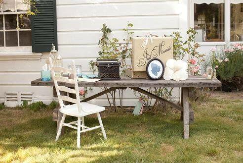 Outdoor set-up