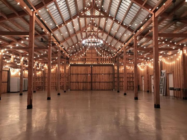 Inside View of The Barn