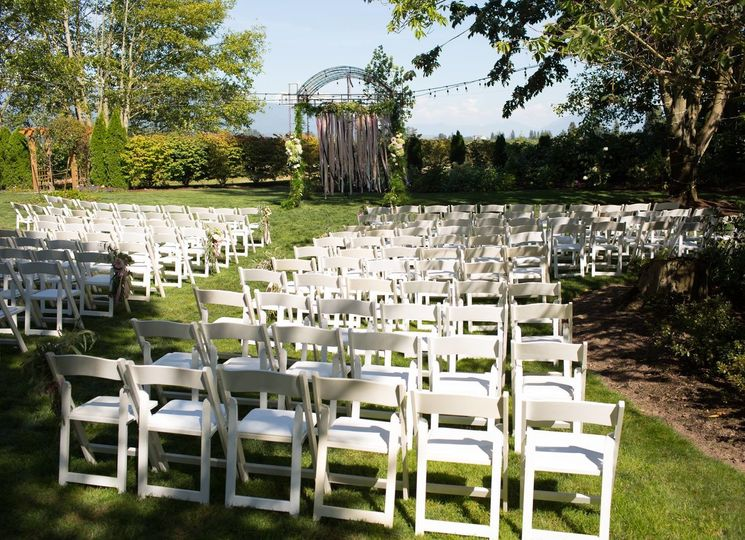 Then white chairs