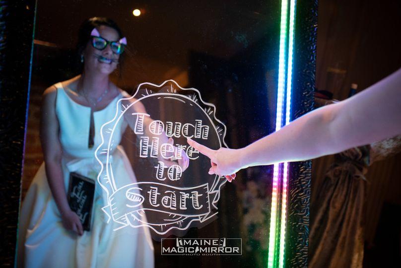 Maine Magic Mirror Photo Fun 5