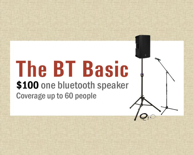 The BT Basic - $100