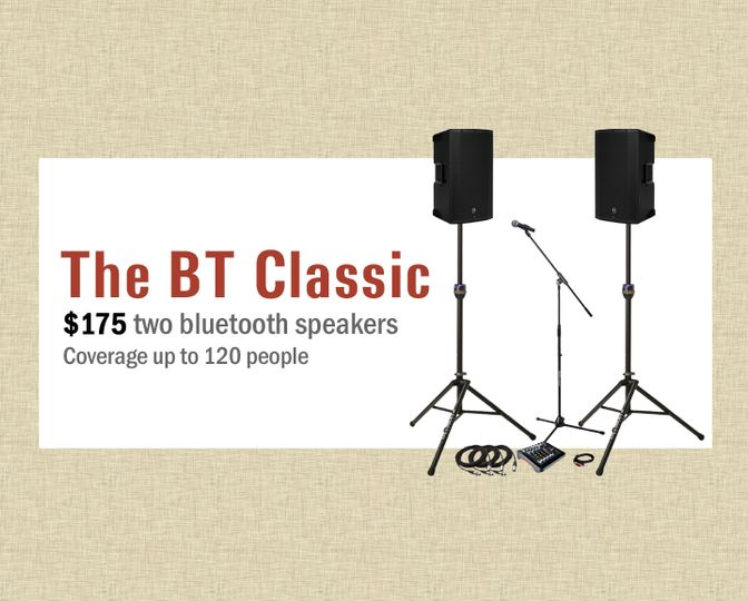 The BT Classic - $175