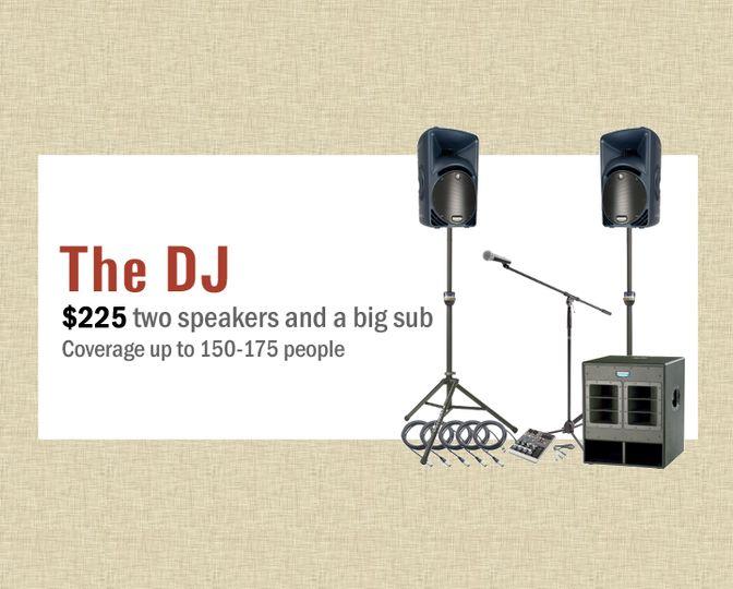 The DJ - $225