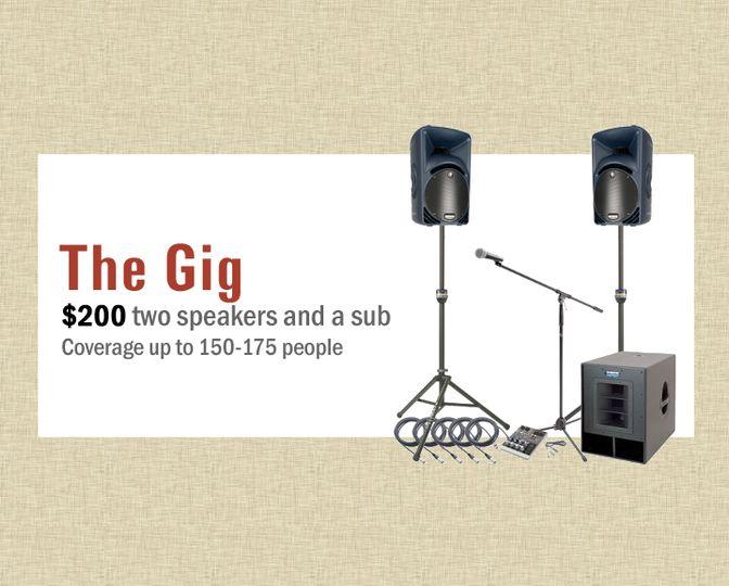 The Gig - $200