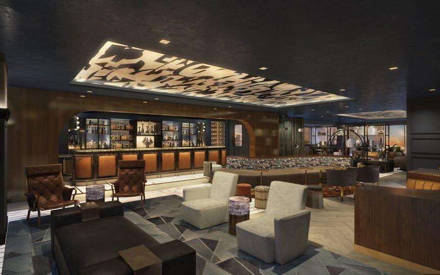 10th Floor Restaurant Interior