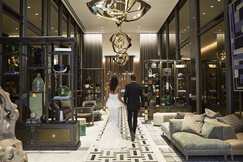 Thompson Couple in Lobby