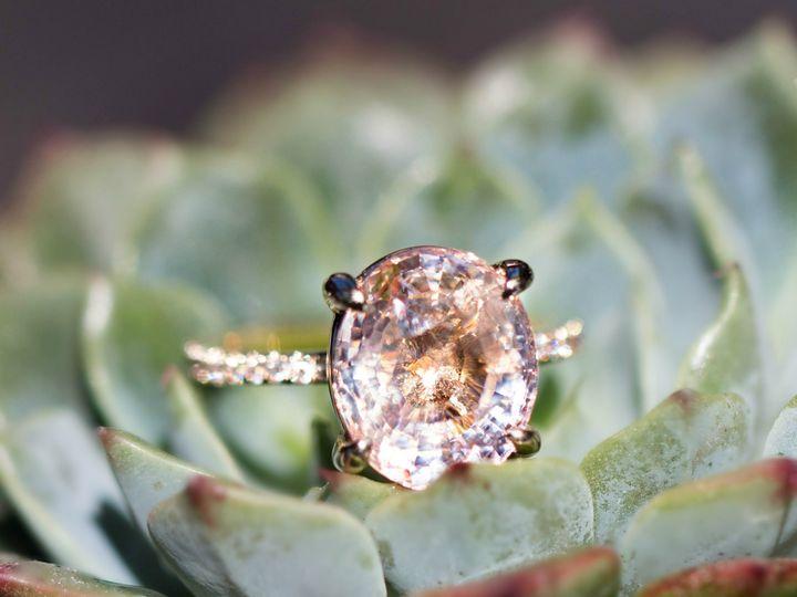 Tmx 1427237976785 Pink Sapphire Ring Shot Los Angeles, CA wedding jewelry