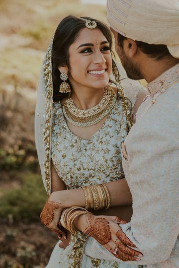 Soft Glam Bridal