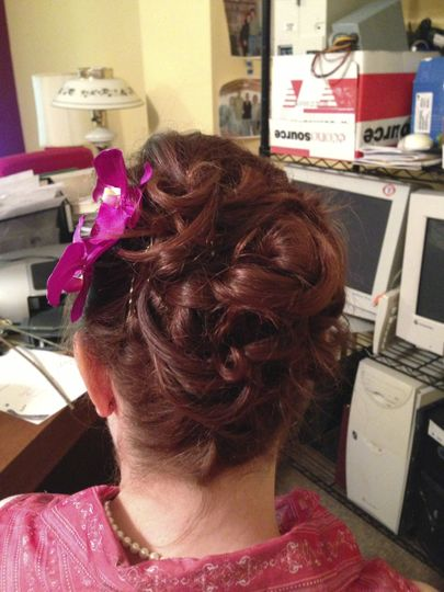 Bridal Hair by Shakera Leigh Beauty