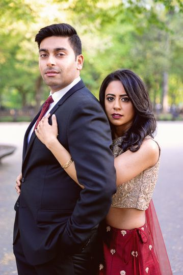 Indian Engagement Photos