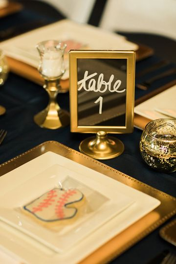 Table number | Stephanie N Baker Photography