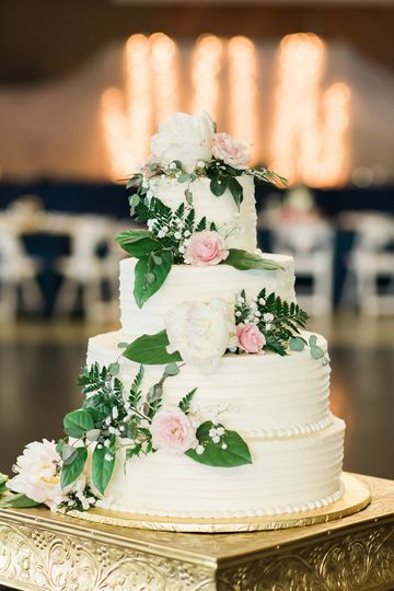 Wedding cake | Stephanie N Baker Photography