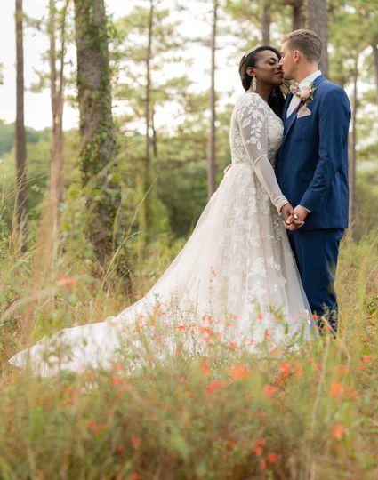 Sheryl and Daniel newlyweds