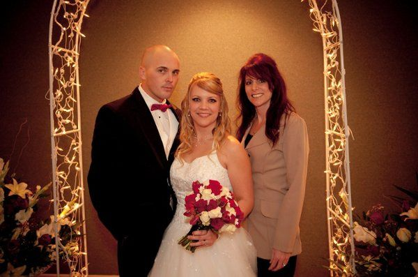 My couple who were married January 2010.  What a beautiful bride & groom they are!