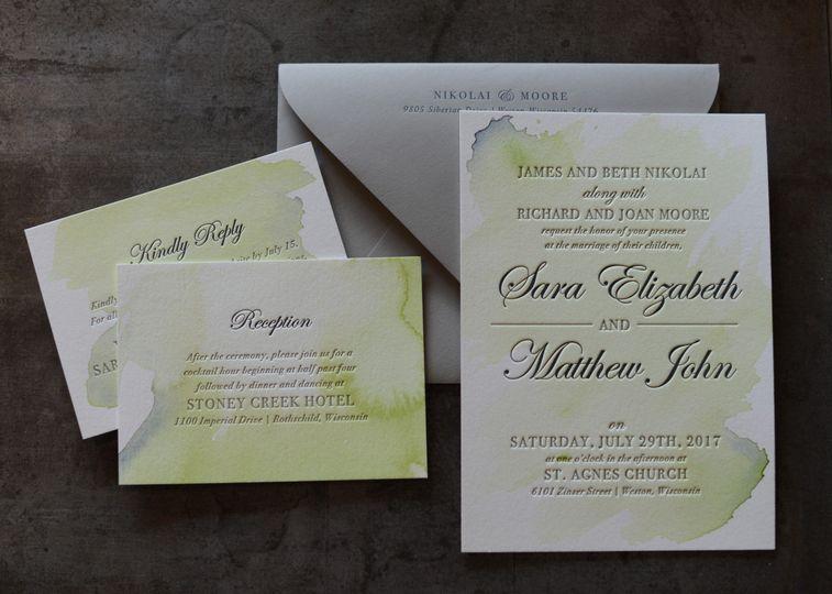 St matts manly wedding invitations