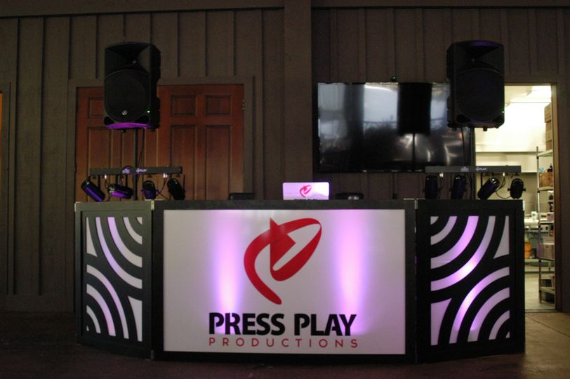 Our DJ Booth.  Make an impression