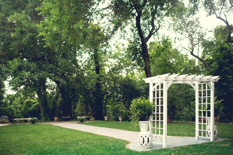 Gardens at Overhills Mansion