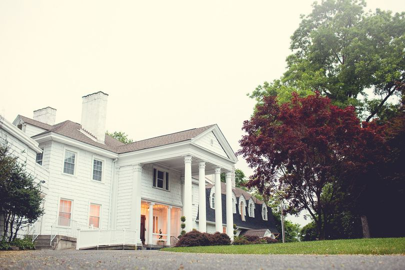 Front of Overhills Mansion