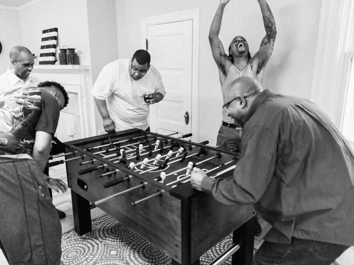 Tmx Groomsmen Playing Foosball 51 1221 Catonsville, MD wedding venue