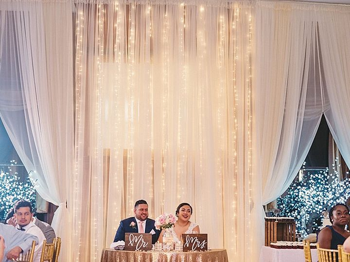 Tmx Pipe And Drape With Twinkle Lights 51 1221 Catonsville, MD wedding venue