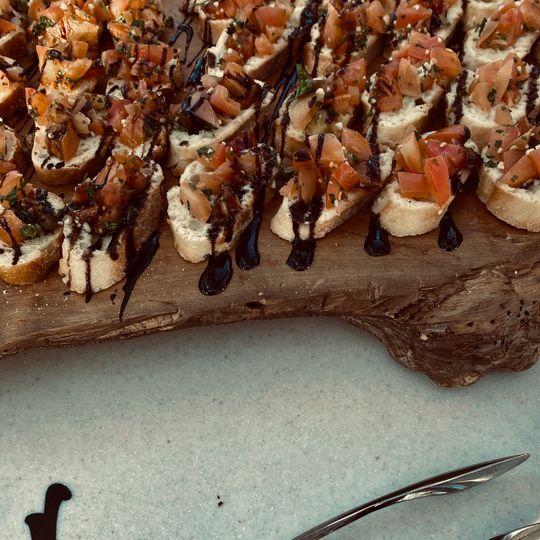 Bruschetta Board Appetizer