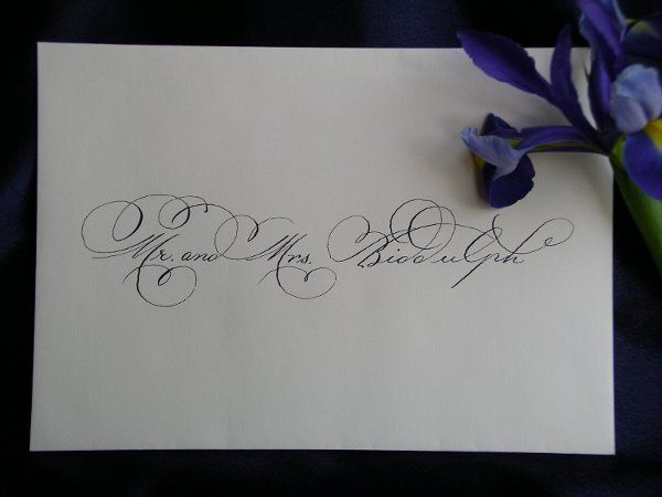 Inner envelope addressed to Mr. and Mrs. Biddulph