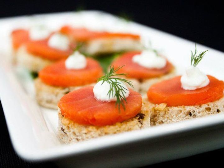 Tmx 1531416099 C7c29f1924267d6f 1531416099 B9c38dbe3b4b6406 1531416096994 38 Smoked Salmon Cro Portland, OR wedding catering