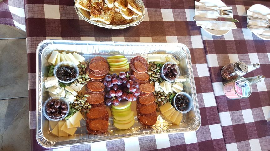 Catering tray Charcuterie