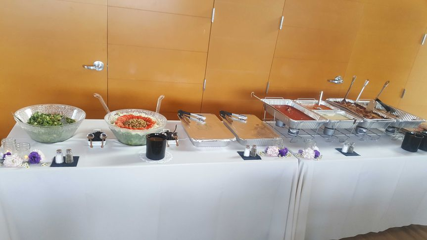 Catering setup one