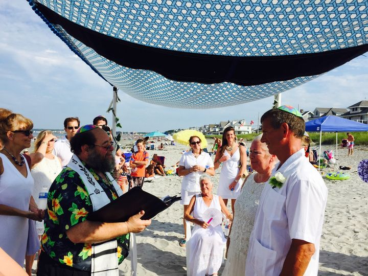 Tmx 1437413447932 Tobe And Marks Beach Wedding Framingham wedding officiant