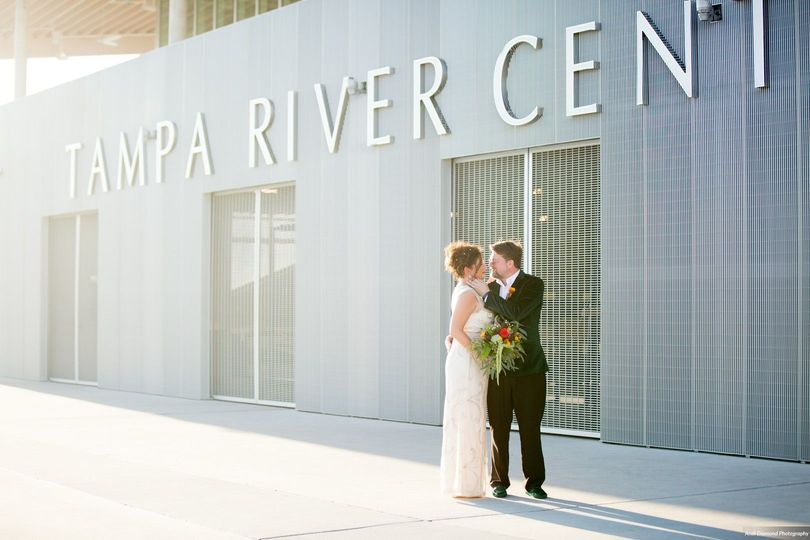 Tampa River Center Wedding