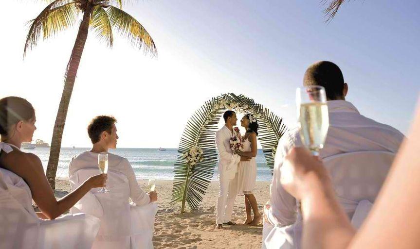 wedding riu palace tropical bay