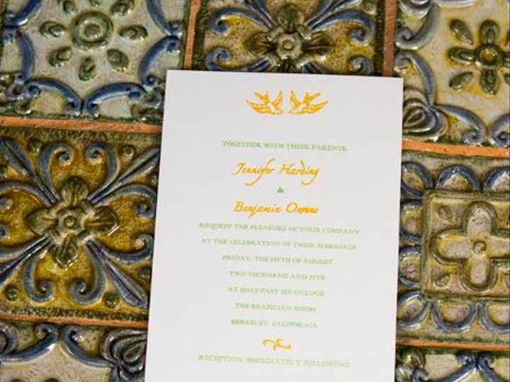 Tmx 1311629532638 Bennifer2 Everson, WA wedding invitation