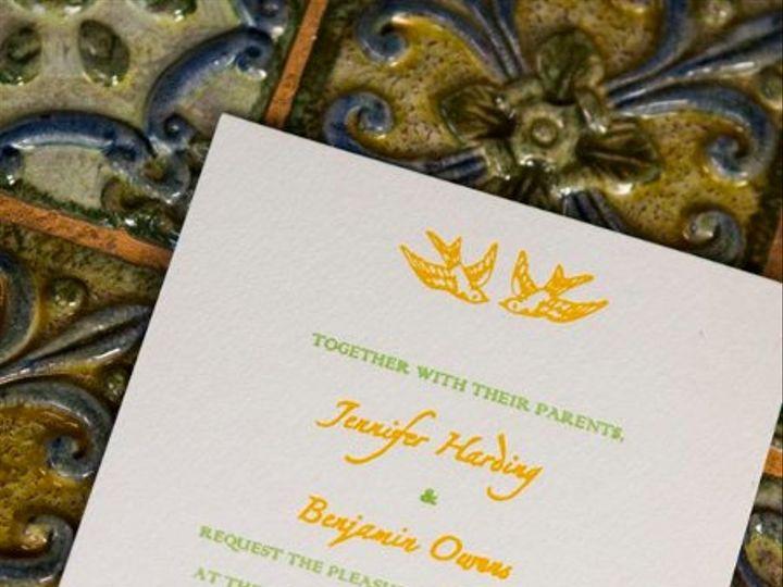 Tmx 1311629554806 Bennifer3 Everson, WA wedding invitation