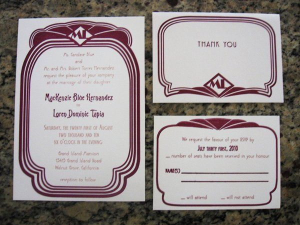 Tmx 1320871109055 Ml1 Everson, WA wedding invitation
