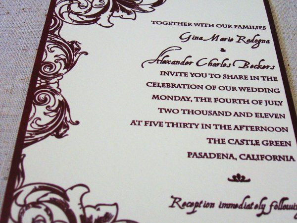 Tmx 1320871488261 G2 Everson, WA wedding invitation