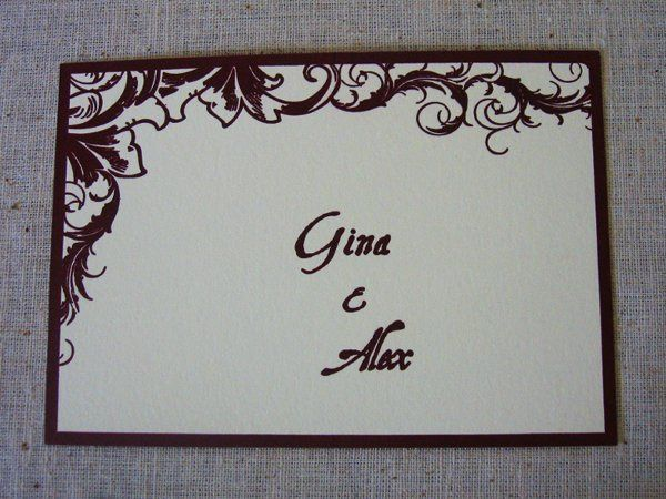 Tmx 1320871650033 Ga3 Everson, WA wedding invitation
