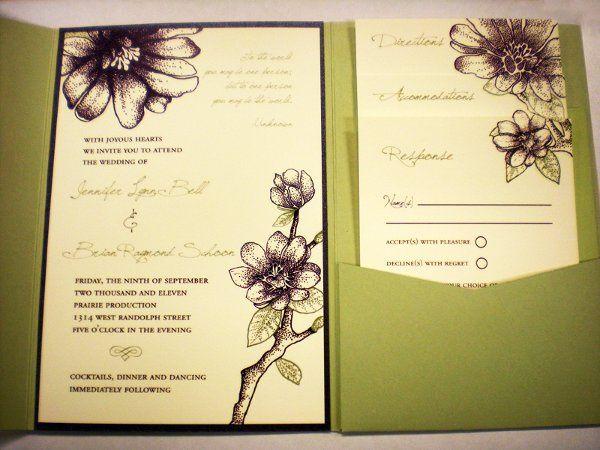Tmx 1320871850509 Bellschoon Everson, WA wedding invitation