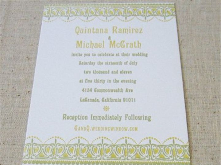 Tmx 1320872064666 Qm1 Everson, WA wedding invitation