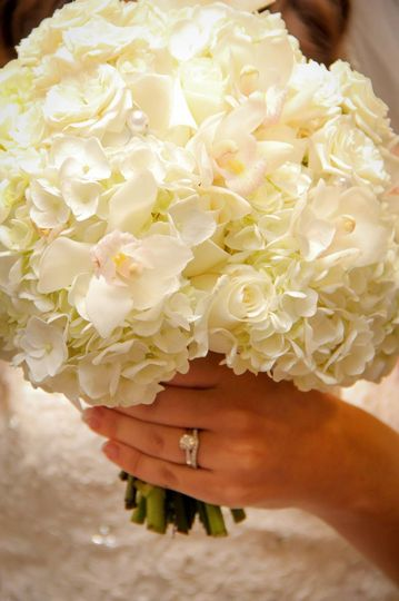 Marry me bridal bouquet