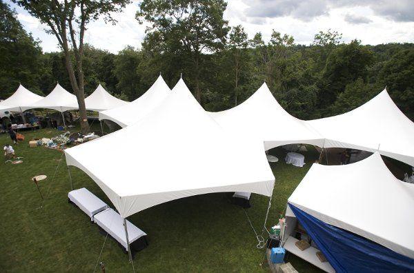 An Outdoor Tented Wedding