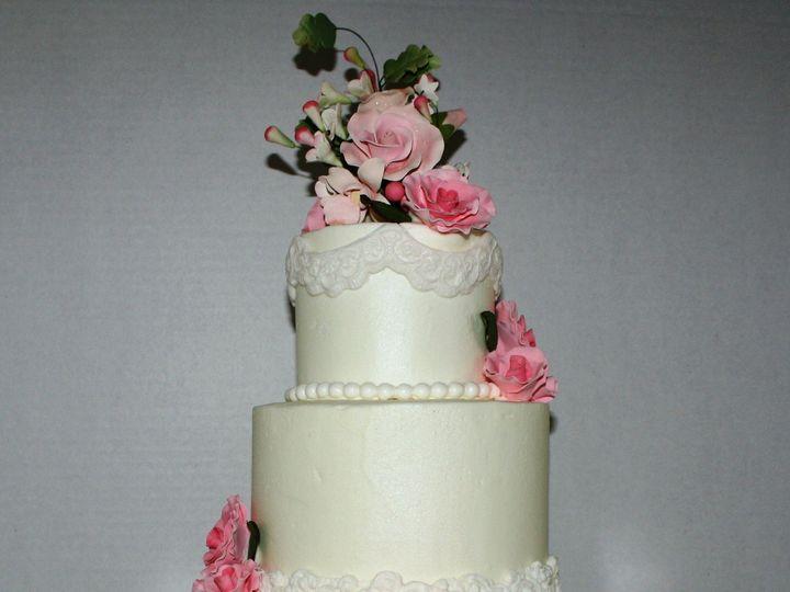 Tmx 1374803523882 Wedding Cake With Cancer Ribbon Ocala, FL wedding cake