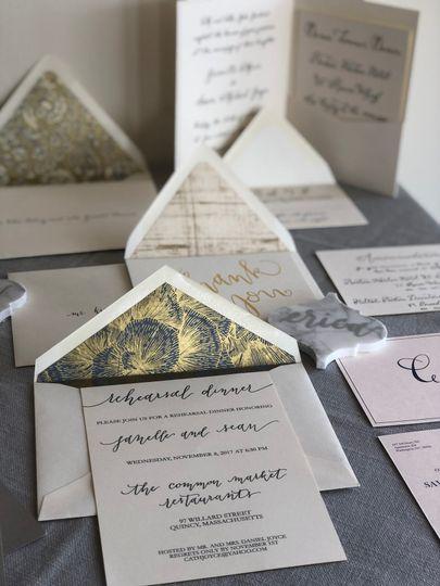 Custom invites/callig/gifts