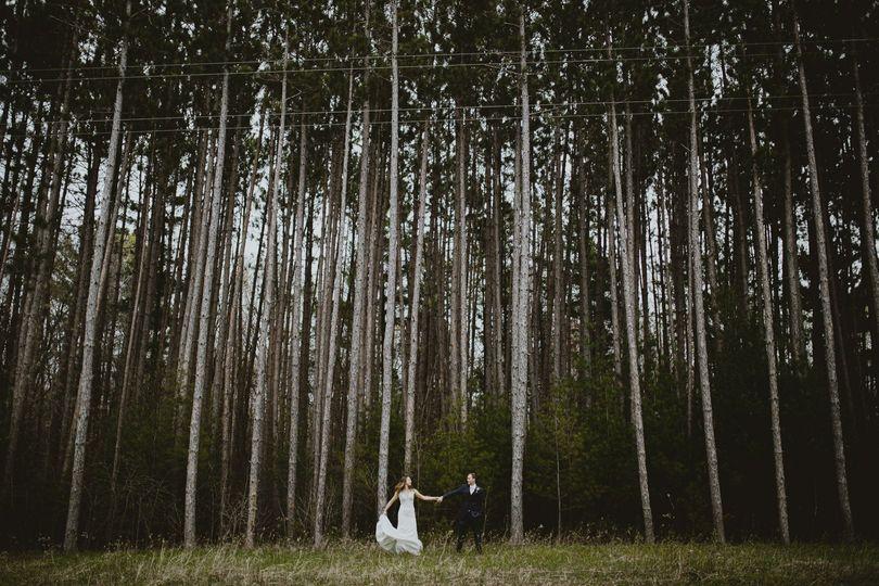 North Woods wedding